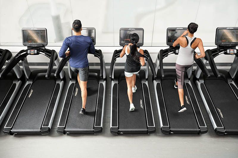 sprzęt fitness na siłownię najem
