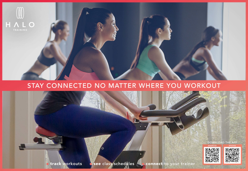 Wearable technology Halo Fitness
