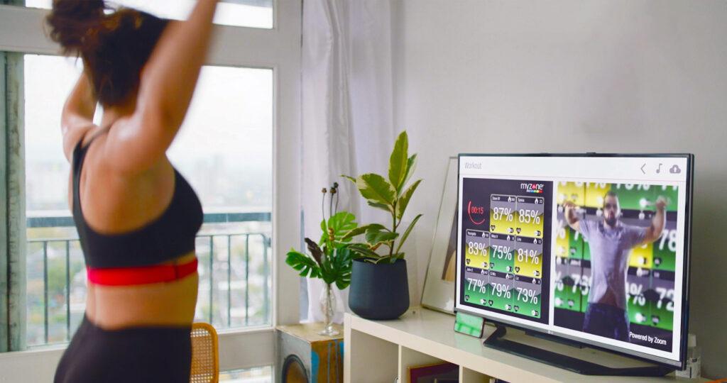 MZ-Remote trening dla klubowiczów w domu podczas pandemii