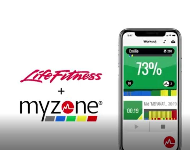 Myzone i Life Fitness integracja