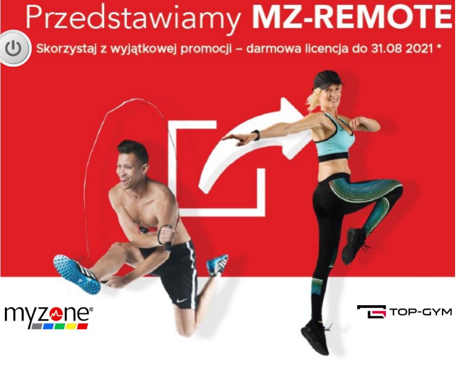 Streaming zajęć grupowych Myzone MZ-Remote