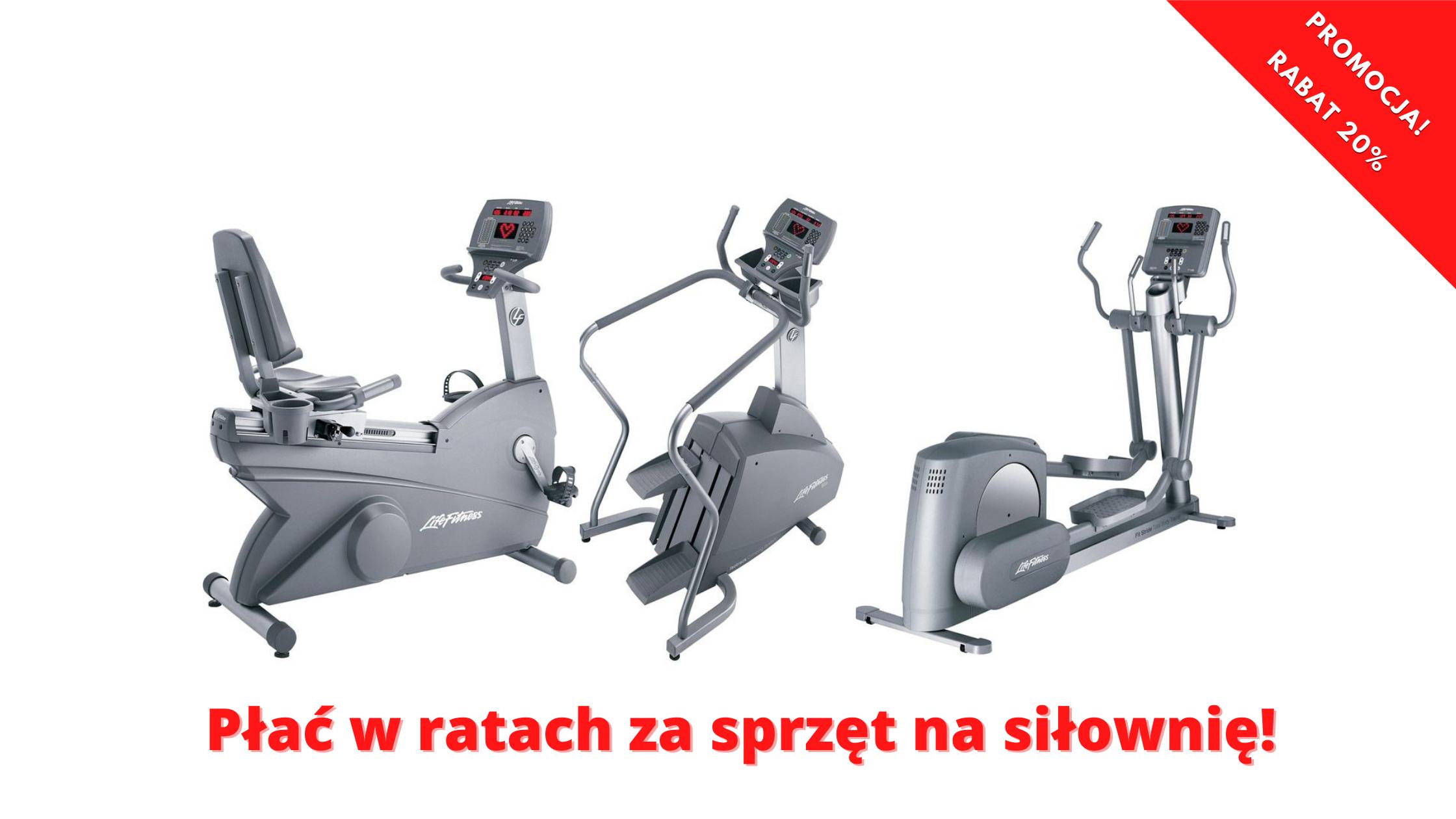 najem maszyn na siłownię